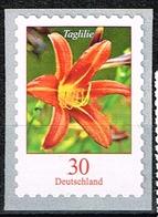 Bund 2020, Michel # 3516 ** Blumen: Taglilie Selbstklebend - [7] Federal Republic