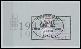 BRD BUND BLOCK KLEINBOGEN 1999 Block 48 Zentrisch Gestempelt X7DF742 - Blocchi
