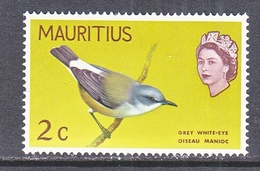 MAURITIUS  327     *       BIRDS - Specht- & Bartvögel