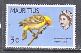 MAURITIUS  328     *       BIRDS - Specht- & Bartvögel
