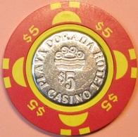 $5 Casino Chip. Playa Dorado, Dominican Republic. S45. - Casino