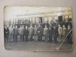 Serbia / Niš, 1930. - Train, Railway Station ( Photopostcard ) - Serbia