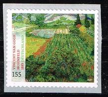 Bund 2020, Michel # 3519 ** Schätze Aus Dt. Museen: Mohnfeld - Vincent Van - Gogh, Selbstklebend Mit Nummer - [7] République Fédérale