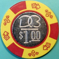 $1 Casino Chip. Dorado Beach, Dorado, Puerto Rico. S46. - Casino