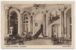 Lucerne - Hotel National, Grand Hall - LU Lucerne