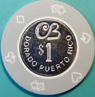 $1 Casino Chip. Cerromar Beach, Dorado, Puerto Rico. S46. - Casino