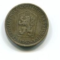 1962 Czechoslovakia 1 Crown Coin - Czechoslovakia