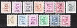 PRE686/98**  Chiffre Sur Lion - Année 1959 - Série Complète - MNH** - LOOK!!!! - Préoblitérés