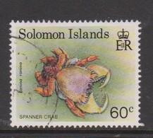 Solomon Islands S 740 1993 Crabs,60c Spanner, Used - Marine Life