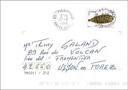 France 2019 - Mi 7264 - YT Ad 1689 ( Fish : Common Sole ) Sur Enveloppe, Cachet Rond - Frankrijk