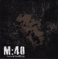 "M:40 -  Industrilandskap 7"" EP 2008 . Crust Punk . Sweden .  NEUF / NEW - Punk"
