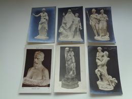 Beau Lot De 60 Cartes Postales De Sculptures  Sculpture  Statue        Mooi Lot Van 60 Postkaarten Sculpturen  Sculptuur - 5 - 99 Cartes