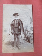 RPPC Boy Dressed In Costume   Ref 3804 - Postcards