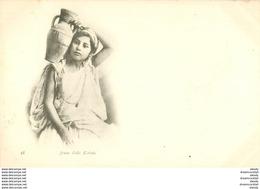 WW ALGERIE. Par Geiser à Alger Vers 1900. Jeune Fille Kabile - Algérie