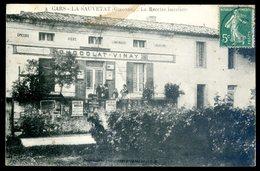 Cpa Du 33  Cars - La Sauvetat  - La Recette Buraliste   DEC19-19 - Frankreich
