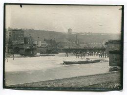 Photo Originale  Format : 180*129 Mm  GIVET  Reconstruction Du Pont 1929   A VOIR  !!! - War, Military