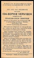 Wijtschate, Wytschate, Kemmel, 1932, Ida Vervisch, Derycke - Images Religieuses