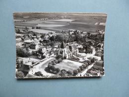 AUXON   -  10  -  Vue Aérienne  -  Le Square Et L'Eglise    -  Aube - Autres Communes