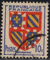 France Poste Obl Yv: 834 Mi:846 Bourgogne Armoiries (cachet Rond) - Francia