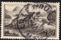 France Poste Obl Yv: 843 Mi: 860 Yv:0,3 Euro Le Gerbier De Jonc (Vivarais) Source De La Loire (beau Cachet Rond) - Francia