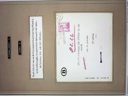 Verzameling Op 2 Bladeren Postmechanisatie CHARLEROI (zie 2 Scans) Met O.a. PUBLIBEL 2086 BELGA ! - Franking Machines