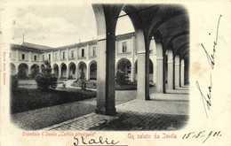 Un Salute Da Imola Ospedale D'Imola ,,Cortile Principale RV Timvre Cachet - Bologna