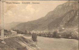 1912- Cartolina Ferrovia Valsugana SolagnaVicenza Viaggiata - Vicenza