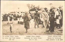 """1911/12-""""Guerra Italo-Turca,La Cattura Degli Arabi Traditori Nelle Oasi""""assolutamente Perfetta - Guerres - Autres"""