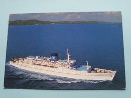 S.S. AMERIKANIS Registry Panama ( FANTASY CRUISES ) Anno 19?? ( Zie / Voir Photo ) ! - Steamers