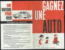 "Insert Publicitaire à Spirou N°1196 Du 16/3/1961 - Concours ""MATERNE"". - Spirou Magazine"