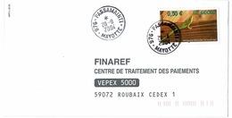 Mayotte - PASSAMAINTI - Finaref - Thème - Reptile - Lézard - Gecko - 2004 - Altri
