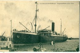 "17 - La Pallice Rochelle : Paquebot Poste Anglais "" ORITA "" - Francia"