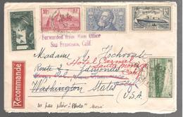 26569 - 5 TP Dont NORMANDIE Pour Les ETATS  UNIS - Marcophilie (Lettres)