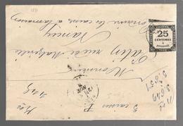 26571 - VERRERIE DE CHATEAU SALINS - Marcophilie (Lettres)