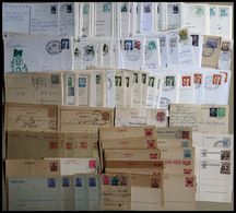 SLG., LOTS DEUTSCHLAND Partie Von über 120 Meist Modernen Ganzsachen Aus Ca. 1920-80, Dazu Eine Partie Von über 130 Ganz - Sammlungen