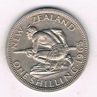 1 SHILLING 1965  NIEUW ZEELAND /26/ - Nieuw-Zeeland