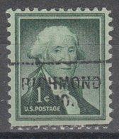 USA Precancel Vorausentwertung Preo, Locals Missouri, Richmond 703 - Vereinigte Staaten