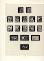 Portugal Lindner Ringbinder Mit Vordruckblätter 1941 - 1969 No. 219/34 Gebraucht Ohne Marken - Álbumes & Encuadernaciones