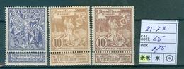 71-73 Xx Côte 25.00€ - 1894-1896 Ausstellungen