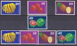 "TAIWAN 1964, ""Taiwan Fruits"", Serie Unmounted Mint + Cancelled - 1945-... Republik China"