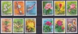 "TAIWAN 1988, ""Flowers"", Series I - IV Mint, Never Hinged - 1945-... Republik China"