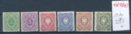 D.-Reich Nr. 39-44 *   (ed9540  ) Siehe Scan - Deutschland
