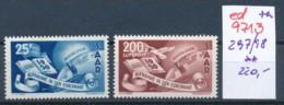 Saar Nr. 297-8  **   (ed9713  ) Siehe Scan - 1947-56 Allierte Besetzung
