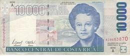BILLETE DE COSTA RICA DE 10000 COLONES DEL AÑO 2002 (PUMA)  (BANKNOTE) - Costa Rica