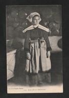 Jeune Fille Cuisiniere ?  De Trégunc 1926    (TTB état) Y+373 - Trégunc