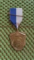 Medaille :Netherlands  -  R.K - W.S.V / W.I.K Dieren - Didam  / Vintage Medal - Walking Association . - Nederland