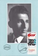 ISRAEL, 1991, Maxi-Card(s), W.W.II Lehi - Resistance, SG1154, F5422 - Tarjetas – Máxima