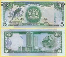 Trinidad & Tobago 5 Dollars P-47c 2006 Sign. Hilaire UNC - Trinidad Y Tobago