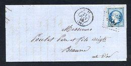 LETTRE N° 14A Ou B...pour Oblitérations, Teintes Ou Variétés - 1853-1860 Napoleone III