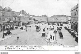 Nice- Place Masséna, Casino Municipal ( En L'état ) - Markten, Pleinen